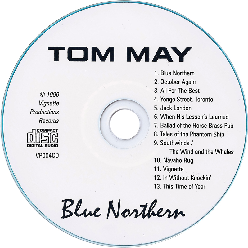 Welcome To The Official Tom May Website Discography Blue